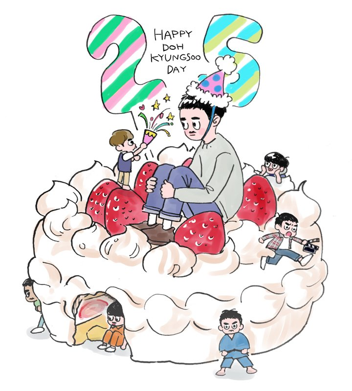 もういっこ! #HappyDODay  #HappyKyungsooDay  #경수야생일축하해