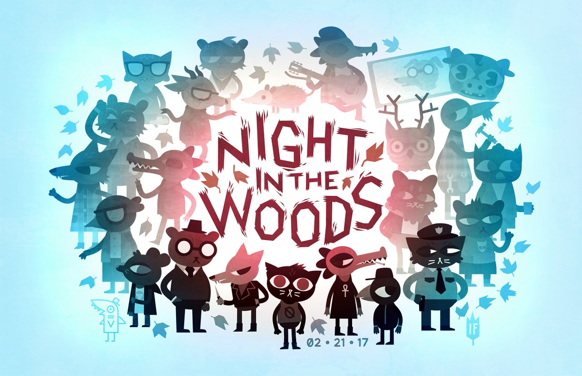 Resultado de imagem para Night in the Woods