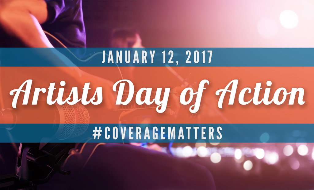 Thumbnail for #CoverageMatters: Artists Day of Action