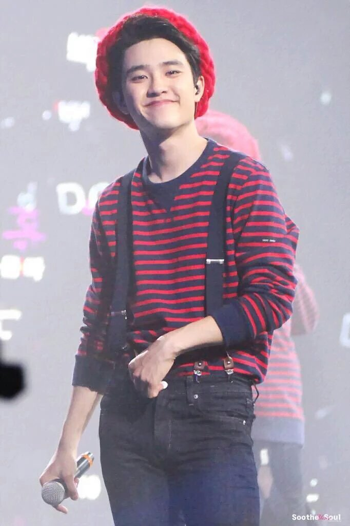 My squishy bub whose voice warms my heart.♡ I love you so so much my penguin.♡ #happykyungsooday #happydohday<br>http://pic.twitter.com/iRHY2KTphY