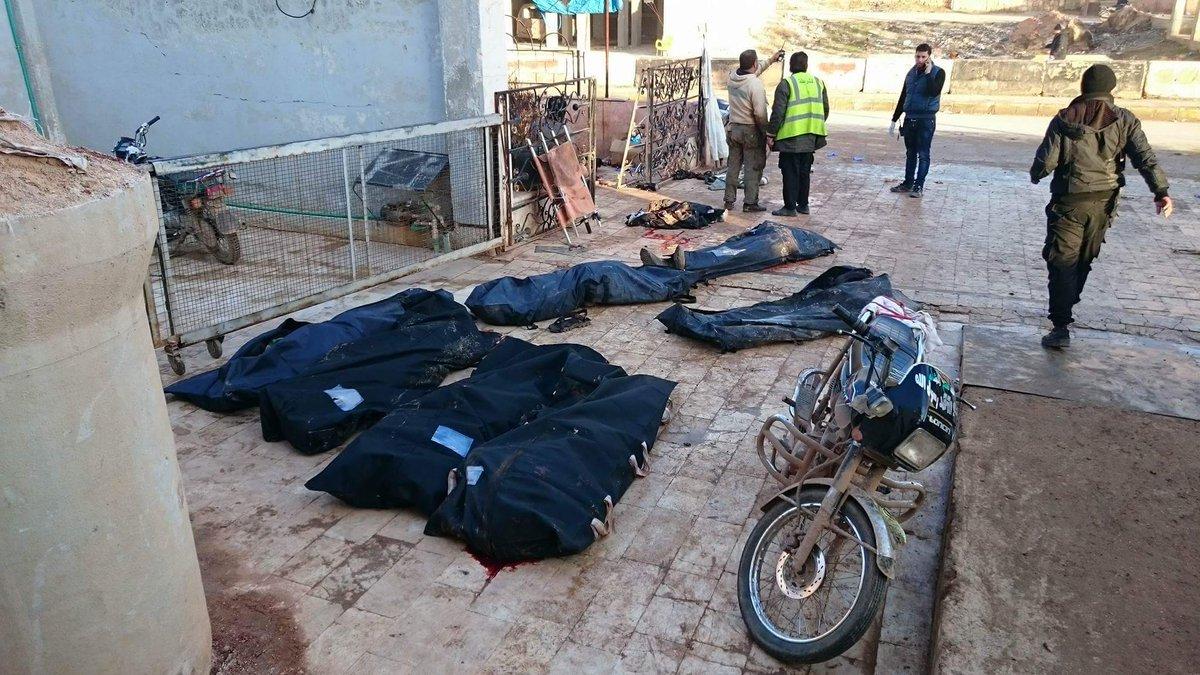Бомбардировки Идлиба