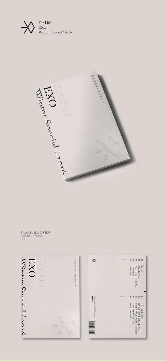 #แจก‼️ฟอล+รี เท่านั้น เนื่องจากเปิดร้านใหม่  👑ครบ 300 ฟอล แจก อัลบั้ม Exo - for life #HappyKyungsooDay #ตลาดนัดEXO