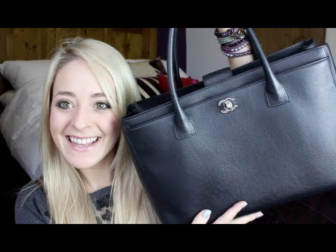 What's in my Bag? (& Chanel Executive Tote Review) #Fleur DeForce #LoveYa #Beauty #MakeUp