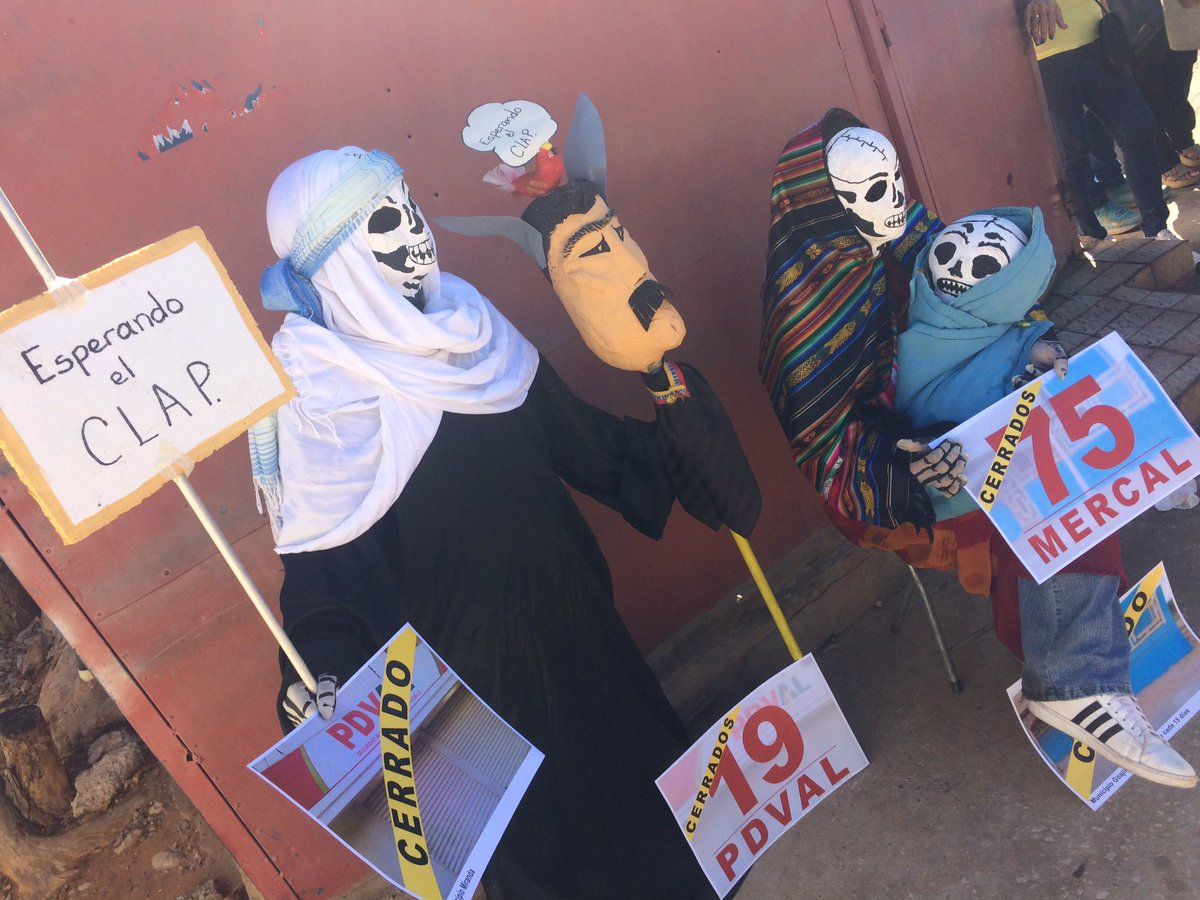 #11Ene ZULIA: ORIGINAL PROTESTA en Mercal de San Jacinto en Maracaibo, NO HAY COMIDA!!!