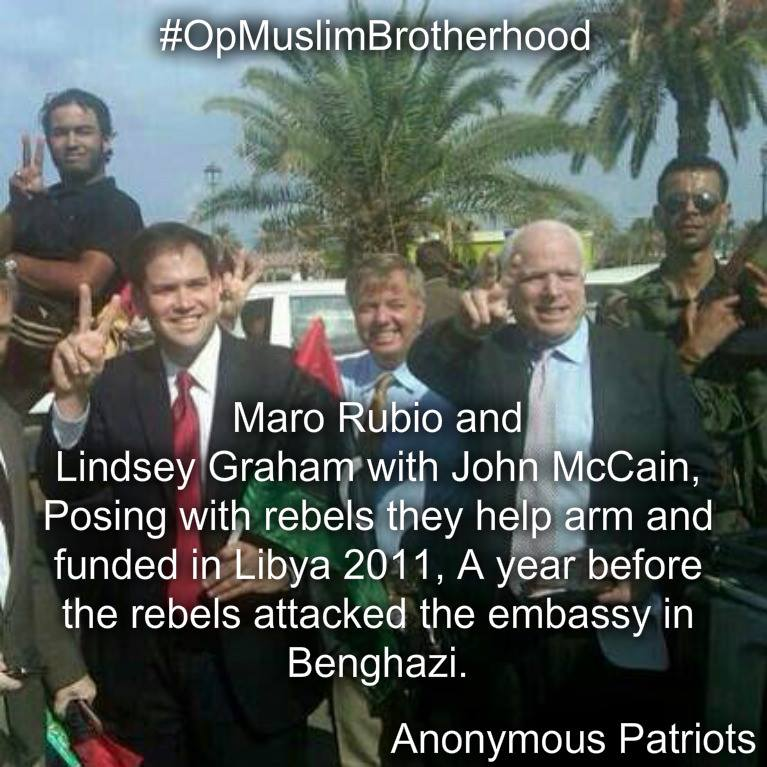 Meet the swamp(Supported &amp; Armed ISIS) who are now interviewing the swamp drainers #dts #Rubio #McCain #Graham    https:// theconservativetreehouse.com/2017/01/01/abs olutely-stunning-leaked-audio-of-secretary-kerry-reveals-president-obama-intentionally-allowed-rise-of-isis/#more-126543 &nbsp; … <br>http://pic.twitter.com/HpeXcDPiYa