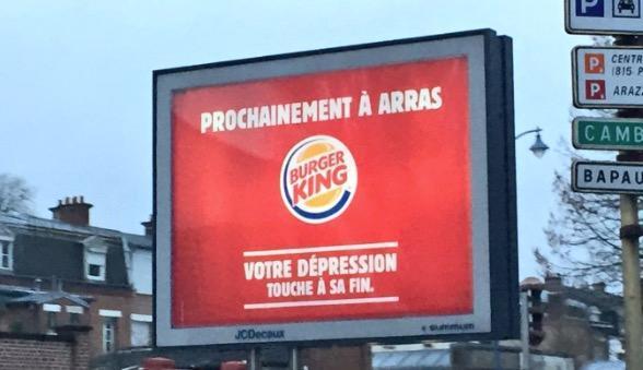 Burger King taquine #Arras, la ville répond  http:// bit.ly/2j1jgwo  &nbsp;  <br>http://pic.twitter.com/oXHPADNJuh