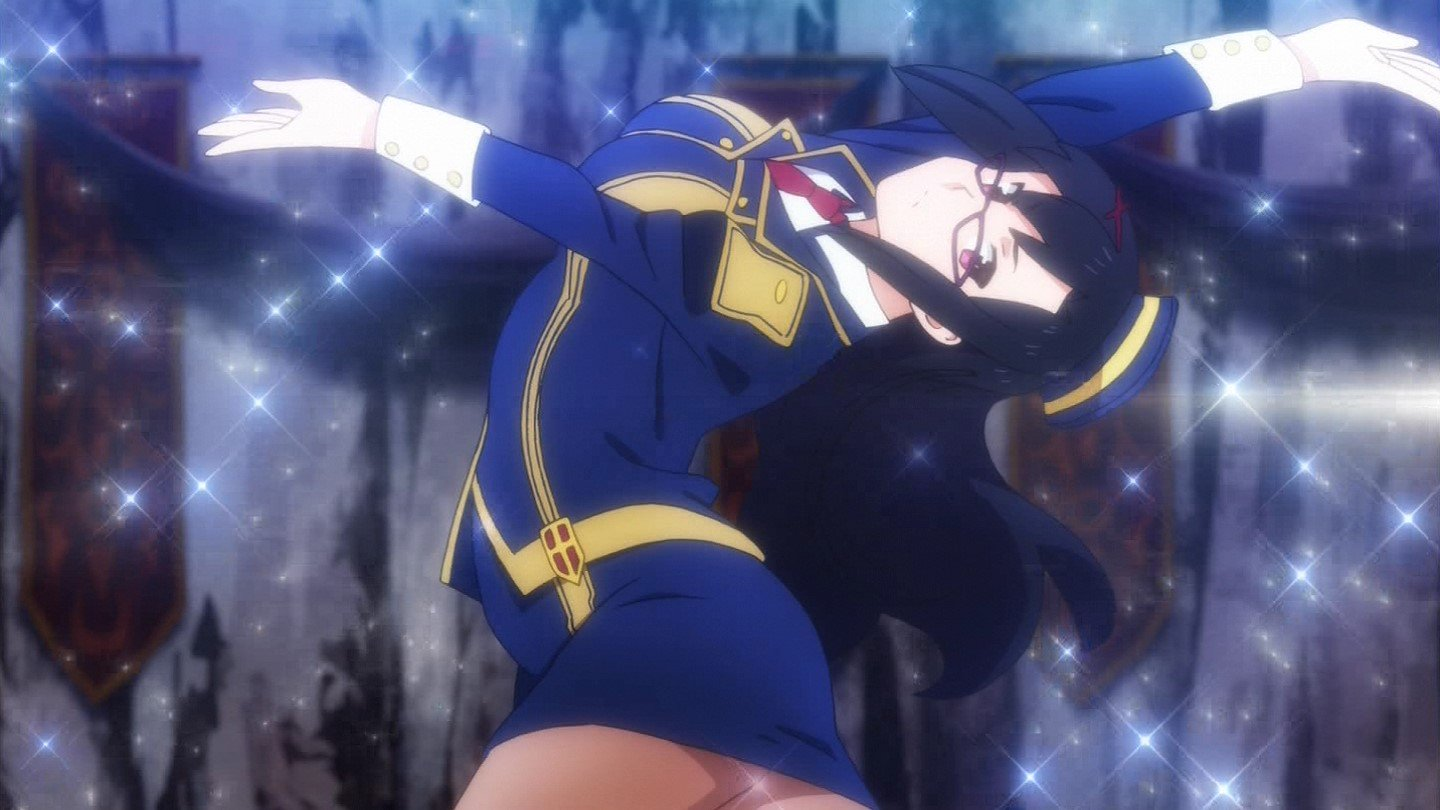 ポーズ #konosuba #tokyomx https://t.co/1nO2yPdH4x