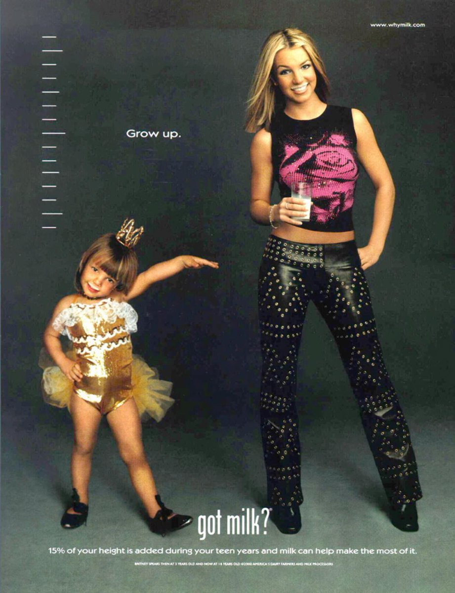 🥛Total @britneyspears throwback for #NationalMilkDay! https://t.co/js...