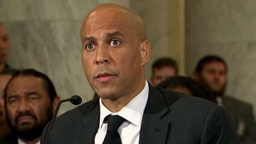 Booker breaks with precedent to testify against Sessions – and earns Republican rebuke