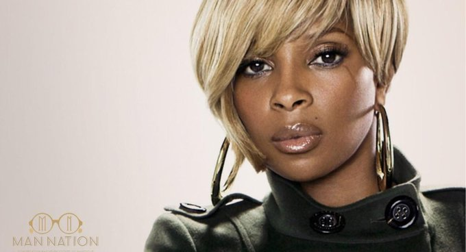 """Happy Birthday to the iconic Mary J. Blige! Thanks for your music, style & eloquence.\"""" -ManNation."""