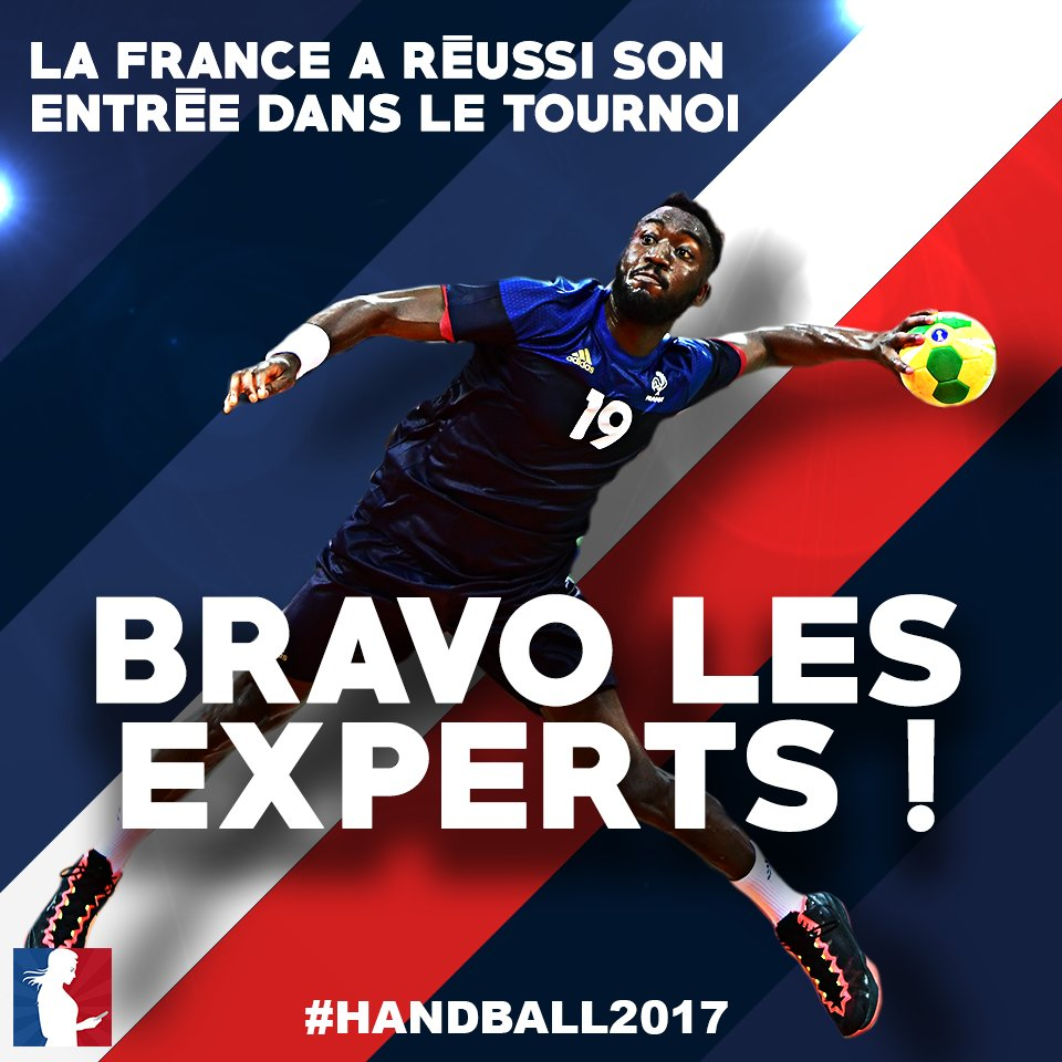 #FRABRA Bravo à l'équipe de France de handball 🇫🇷 ! #Handball2017 http...