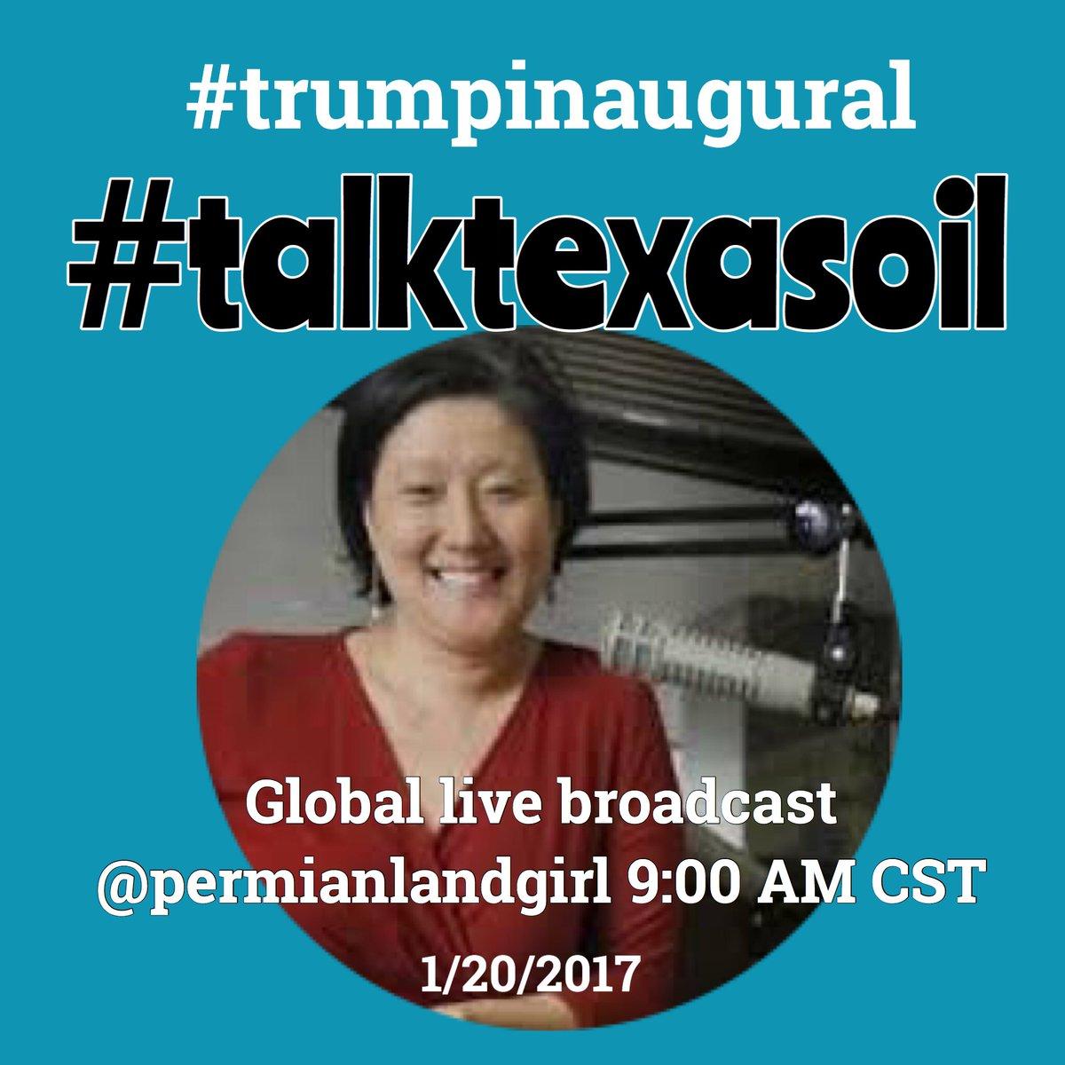 #TillersonConfirmation #talktexasoil will discuss #tillerson periscopetv on @TrumpInaugural @OCTG_Network @katyabee4 @Lanawrites<br>http://pic.twitter.com/nYqG8az5GQ