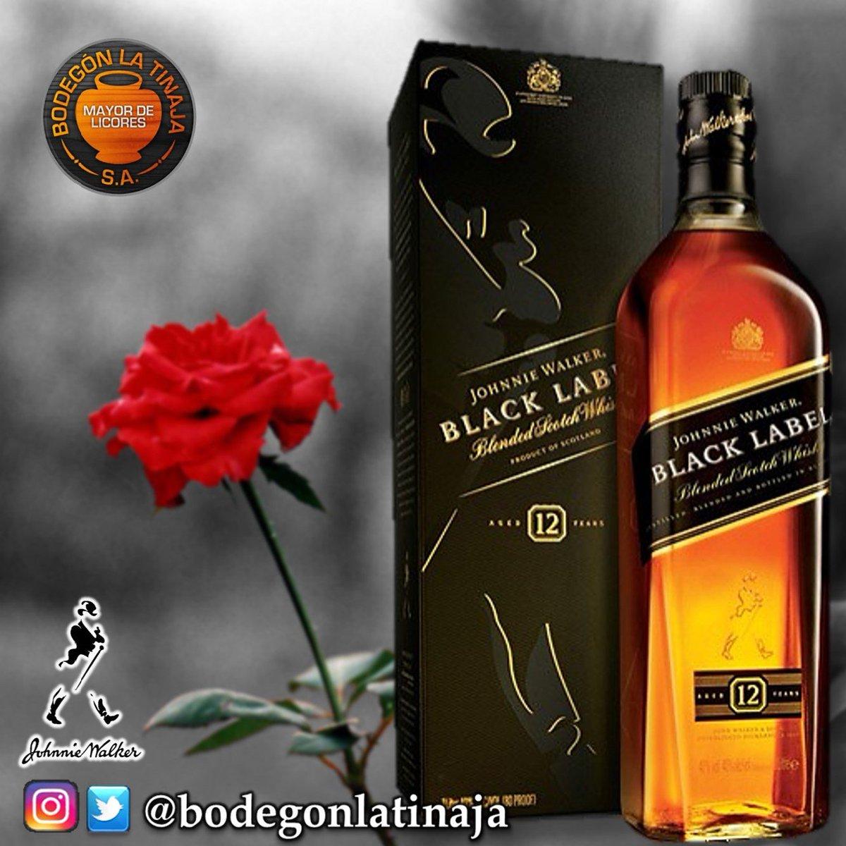 #BlendedScotchWhisky #JhonnyWalker #BlackLabel #EtiquetaNegra Disponible en #BodegonLaTinaja en la 72. #Visitanos<br>http://pic.twitter.com/rjGpA6r8OQ
