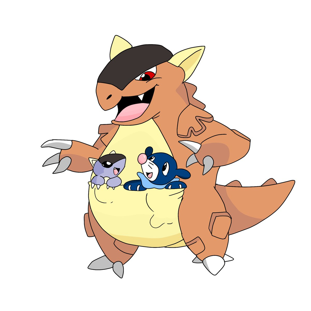 Kangaskhan vs Forretress - Pokemon Go