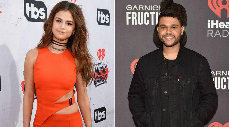 Whoa: Selena Gomez and The Weeknd were caught making out 😱 https://t.c...