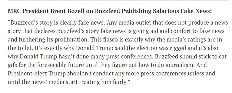 Here is my official statement on Buzzfeed publishing salacious fake ne...
