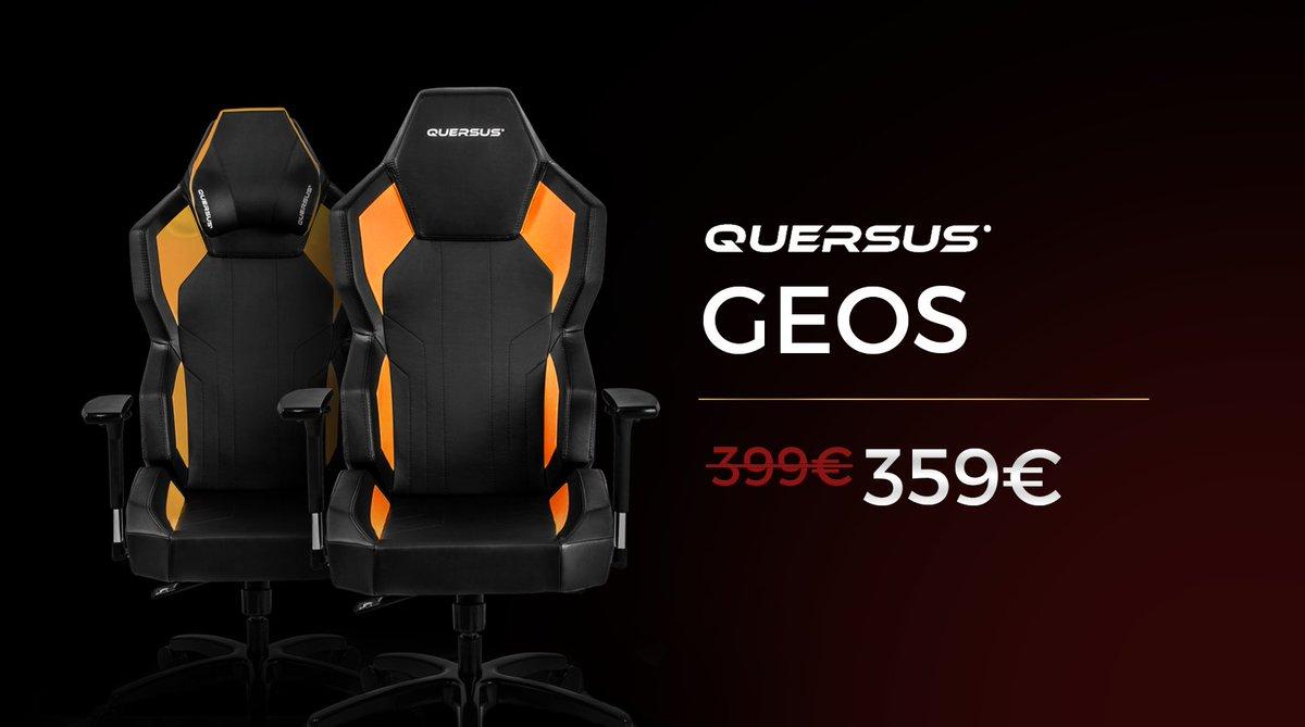 Quersus GEOS Orange : votre meilleur allié pour jouer avec confort. #SoldesHiver  http:// quersus.com/fr/art14_siege -quersus-g702-xo.html &nbsp; … <br>http://pic.twitter.com/ZrvaldyTIr