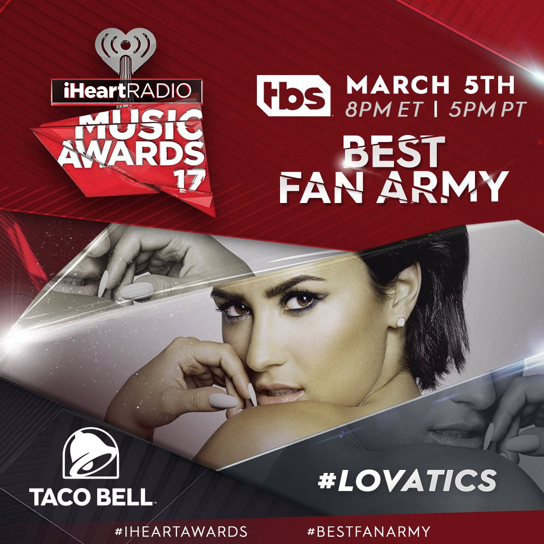 LOVATO ARMY, keep on fighting! Vote #Lovatics as #BestFanArmy at our #...