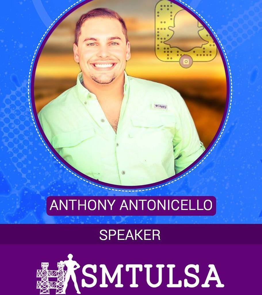 Please welcome #smtulsa speaker, @ajantonicello  And join us for tonight's #smtulsachat  A… https://t.co/evjNbhu41z https://t.co/mO2n6GuFHa