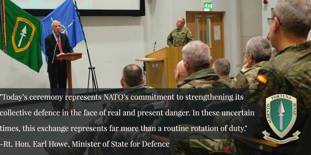 Read more details about the #NRF17 ceremony and UK commitment to @NATO held today at https://t.co/slYSgAQp3c https://t.co/x0MITLrikz