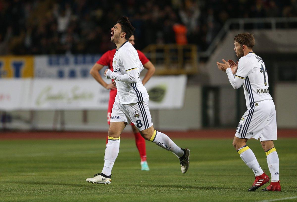 Fenerbahçe - Partizan hazırlık maçı özeti ve goller Ozan Tufan