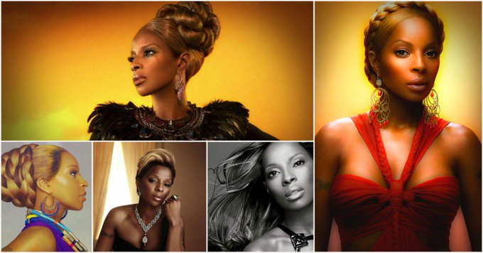 Happy Birthday to Mary J. Blige (born January 11, 1971)