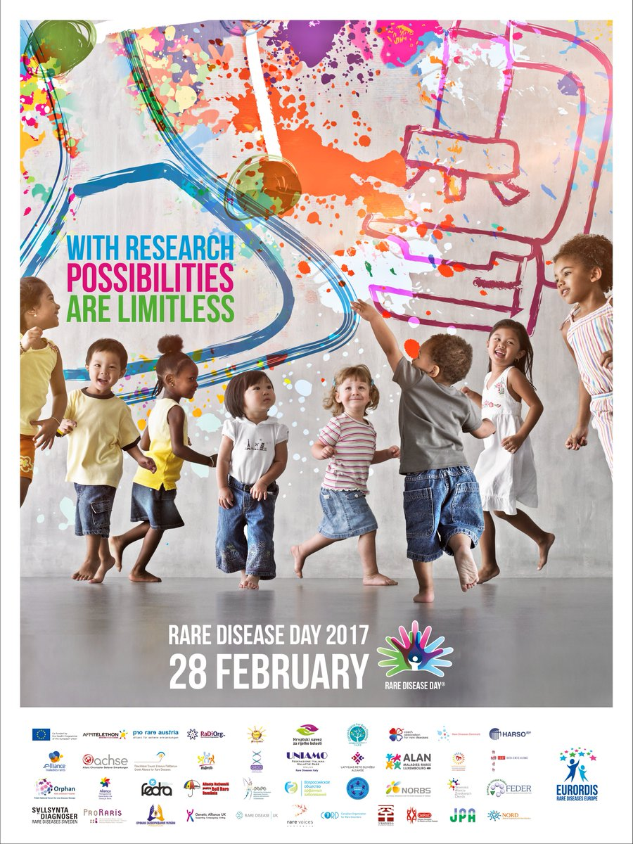 BREAKING NEWS! The official #RareDiseaseDay 2017 poster is out now!  Download here:  http://www. rarediseaseday.org/downloads  &nbsp;   #RareDisease <br>http://pic.twitter.com/lH083lfIV7