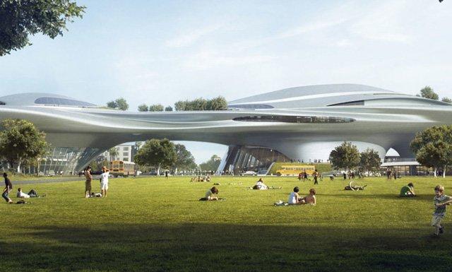 Джордж Лукас выделит примерно миллиард долларов на строительство музея...