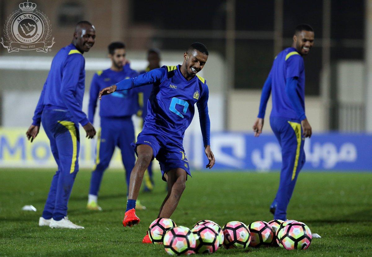 فيديو النصر يستأنف تدريباته ملعب