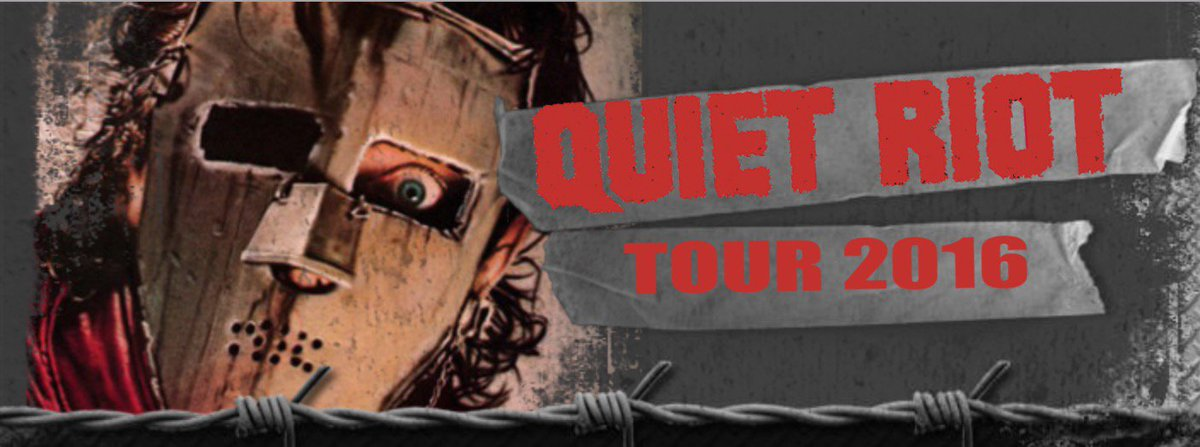 QUIET RIOT coming to a venue near you! Check the tour schedule & BANG YOUR HEAD https://t.co/7AdwVLTMFG https://t.co/s5X7JNsQeR