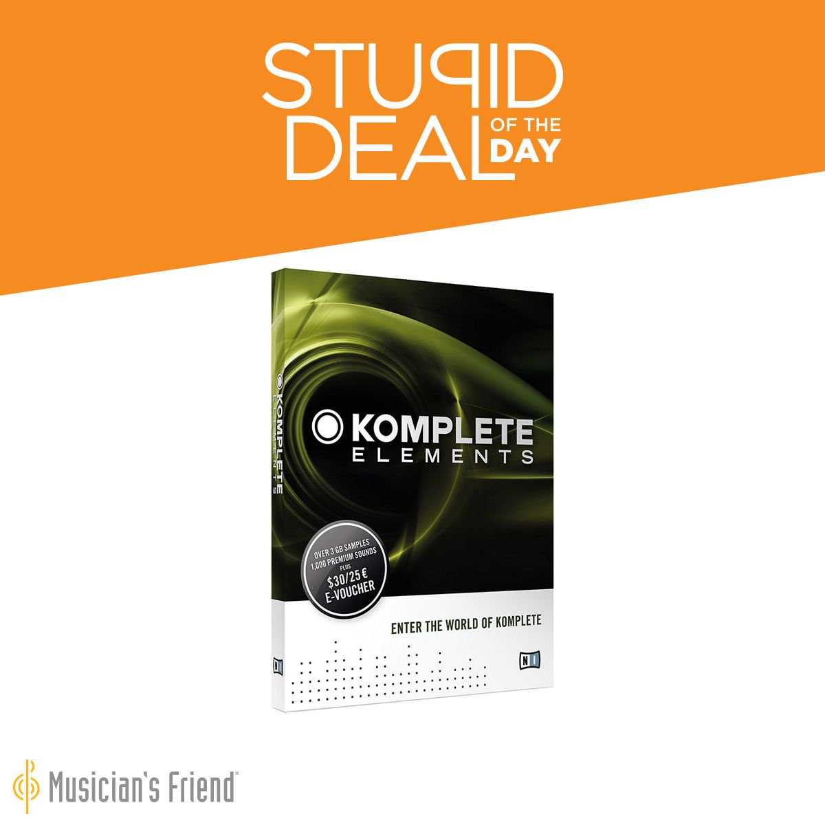 musician 39 s friend on twitter stupid deal of the day 1 11 17 native instruments komplete. Black Bedroom Furniture Sets. Home Design Ideas
