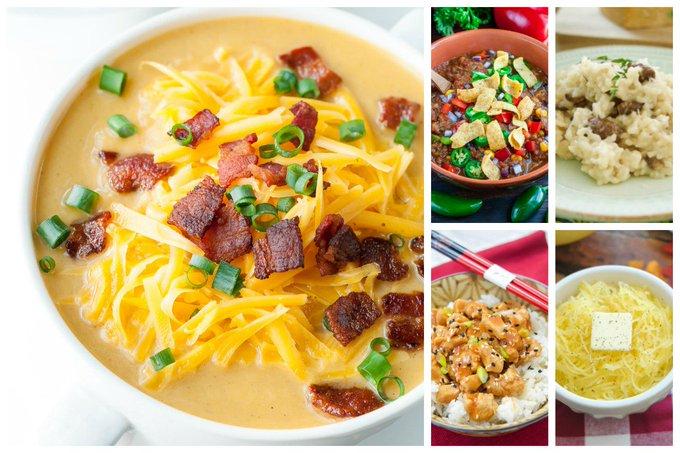 23 Savoury Instant Pot Recipes
