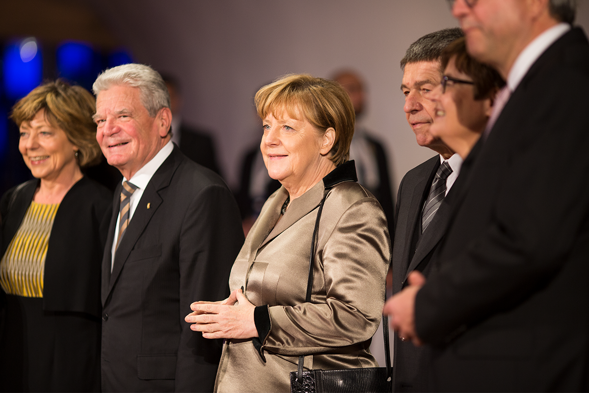 Thank you, Angela Merkel, thank you, Joachim Gauck for celebrating thi...