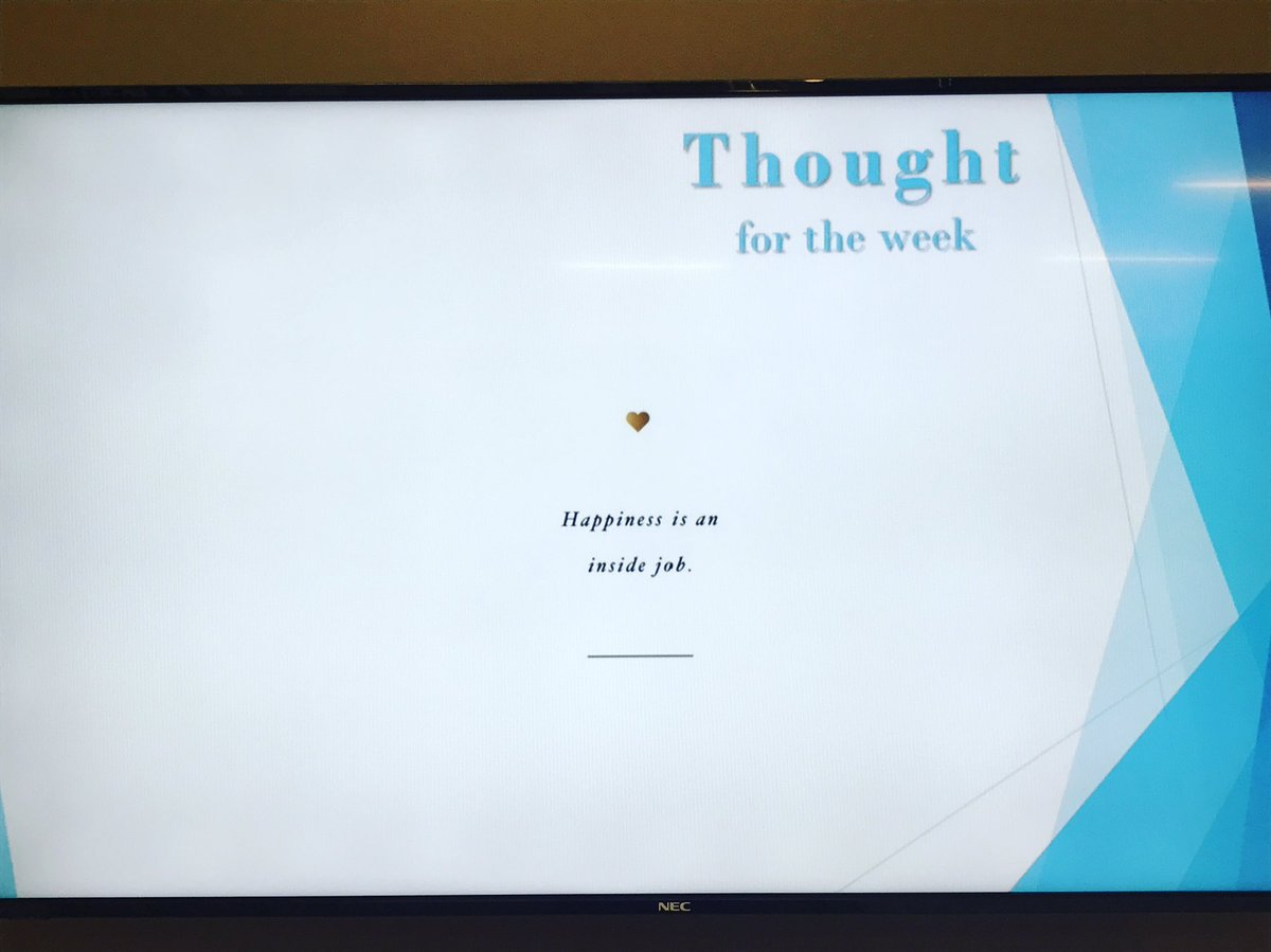 Some #wednesdaywisdom from our lobby tv...  #nonprofit #newhaven #mentalhealth <br>http://pic.twitter.com/5BGszbLGka