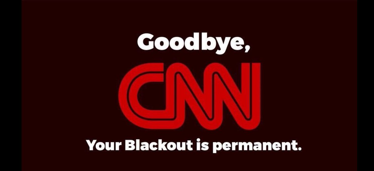 Never again will I watch CNN or even glance at a CNN article. I&#39;m blocking the channel as such on as I get home #CNNisFakeNews <br>http://pic.twitter.com/sc8R0EIAtN