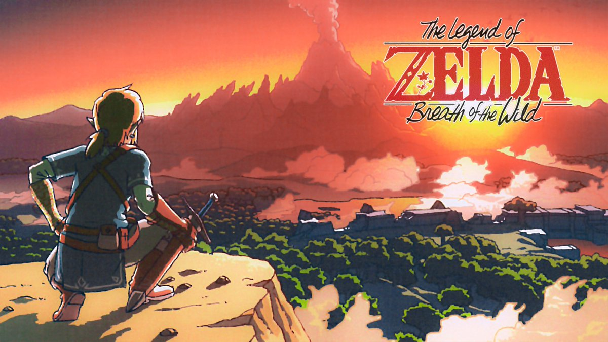 Dystify On Twitter Zelda Breath Of The Wild Wallpaper With