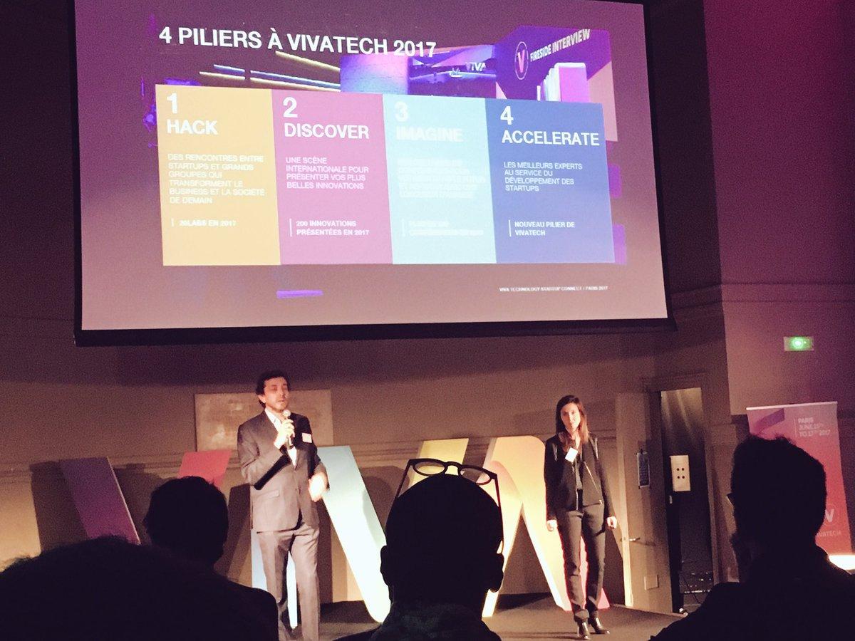Les 4 Pilliers de #vivatech 2017 #hack #discover #imagine #accelerate<br>http://pic.twitter.com/TiZvtWhWkj