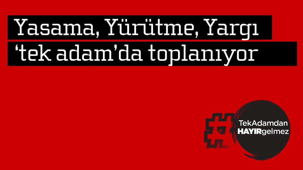 Anayasa değişikliğiyle,Türkiye'de yaşayan herkesin iradesi tek bir kiş...