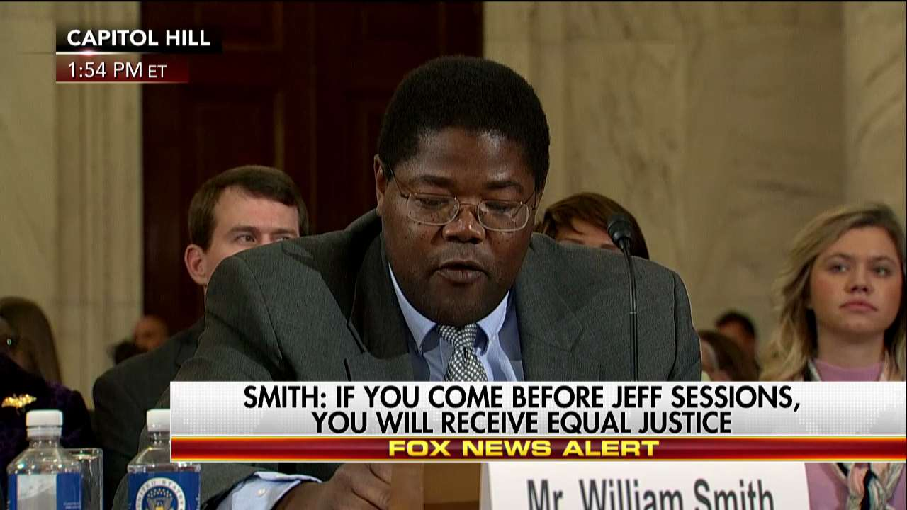 William Smith Emotional Testimony on Jeff Sessions for Attorney General