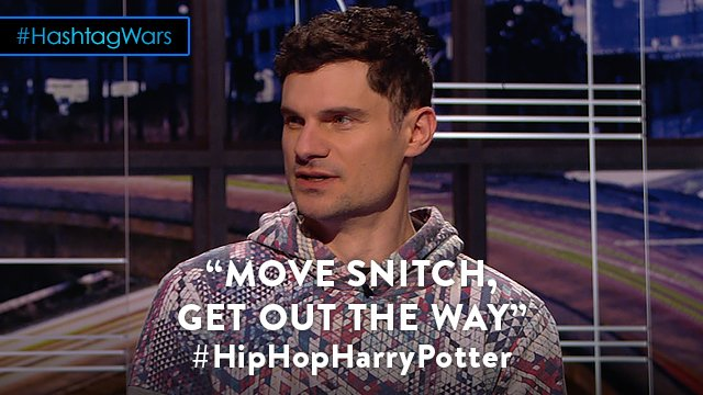 Wizards get stitches. #HipHopHarryPotter @midnight @flula https://t.co...