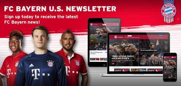Kick off 2017 in the know, and sign up for the #FCBayern Email Newslet...