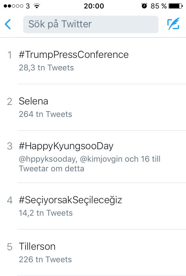 4 hours later &amp; our angel is still trending 3rd worldwide, he&#39;s legendary &amp; we are a freaking amazing fandom, go EXO-Ls #HappyKyungsooDay <br>http://pic.twitter.com/tEiWVOL4FV
