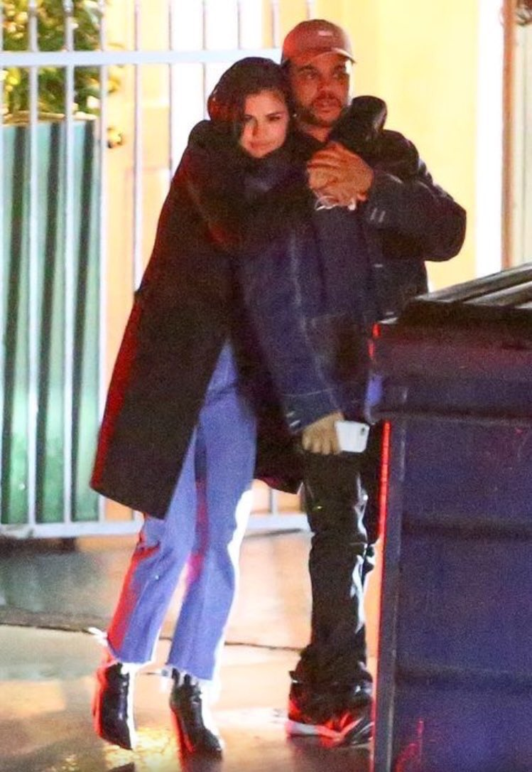 Everyone's freaking out over these Weeknd and Selena Gomez pics. https...