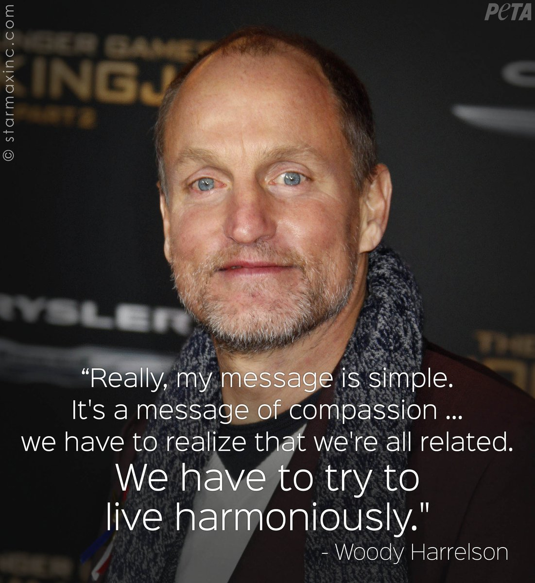 #Vegan Woody Harrelson is joining the cast for the upcoming young Han...