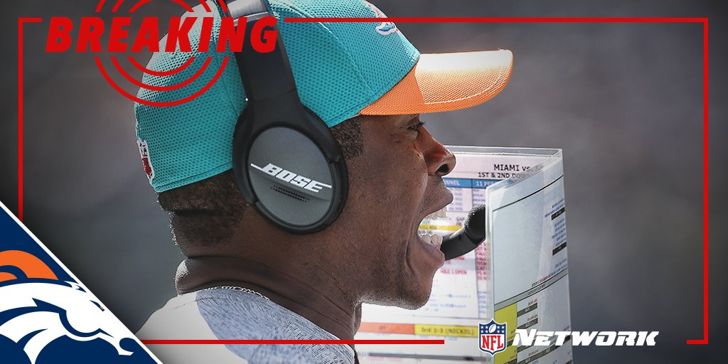 BREAKING: Broncos expected to hire Dolphins DC Vance Joseph as head co...