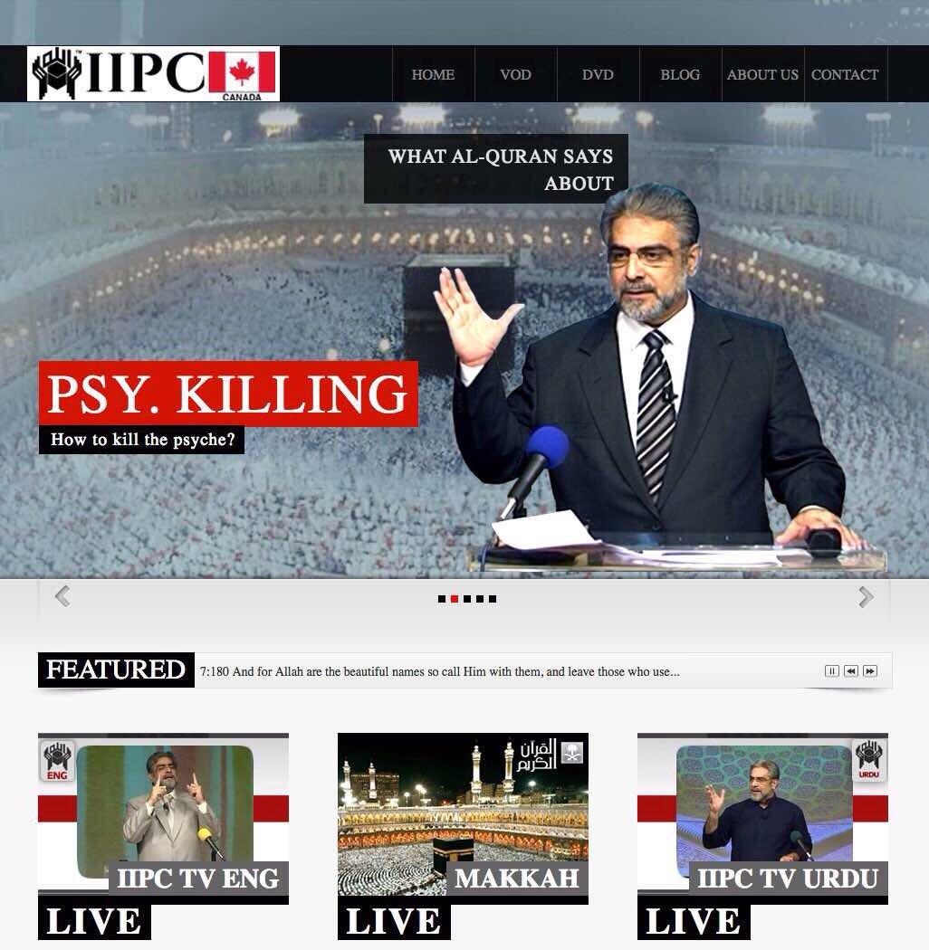 #QuranSays physical #killing is #satanic act says #Ambassador of #Islam #MohammadShaikh @iipccanada #زوج_يقتل_زوجته_بالطايف <br>http://pic.twitter.com/cZxs2SGokg
