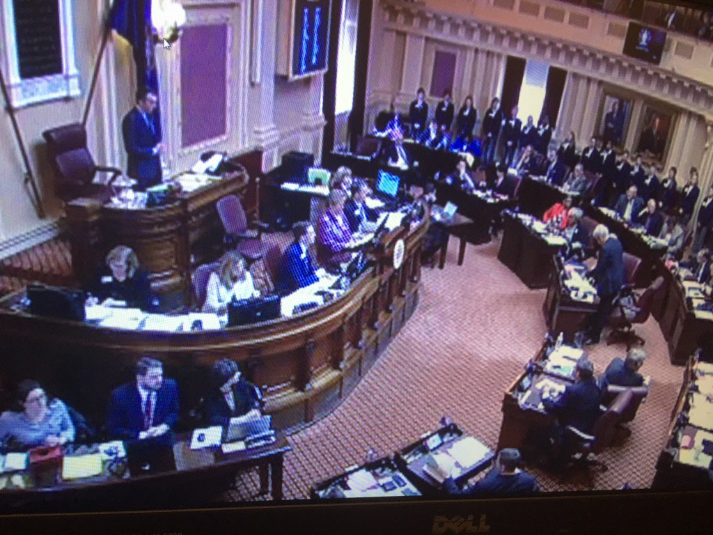 Va General Assembly opens with a challenge,  a $1.2B shortfall while finding $ for state worker raises #NBC4DC@5 <br>http://pic.twitter.com/jB28ozbt6t