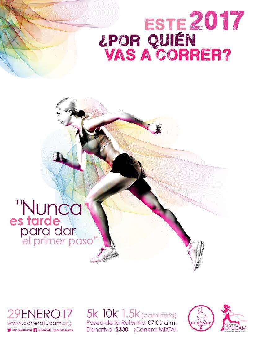 #EsDeMexicanos participar en la 3a @CarreraFUCAM de @FUCAMM el 29 de e...
