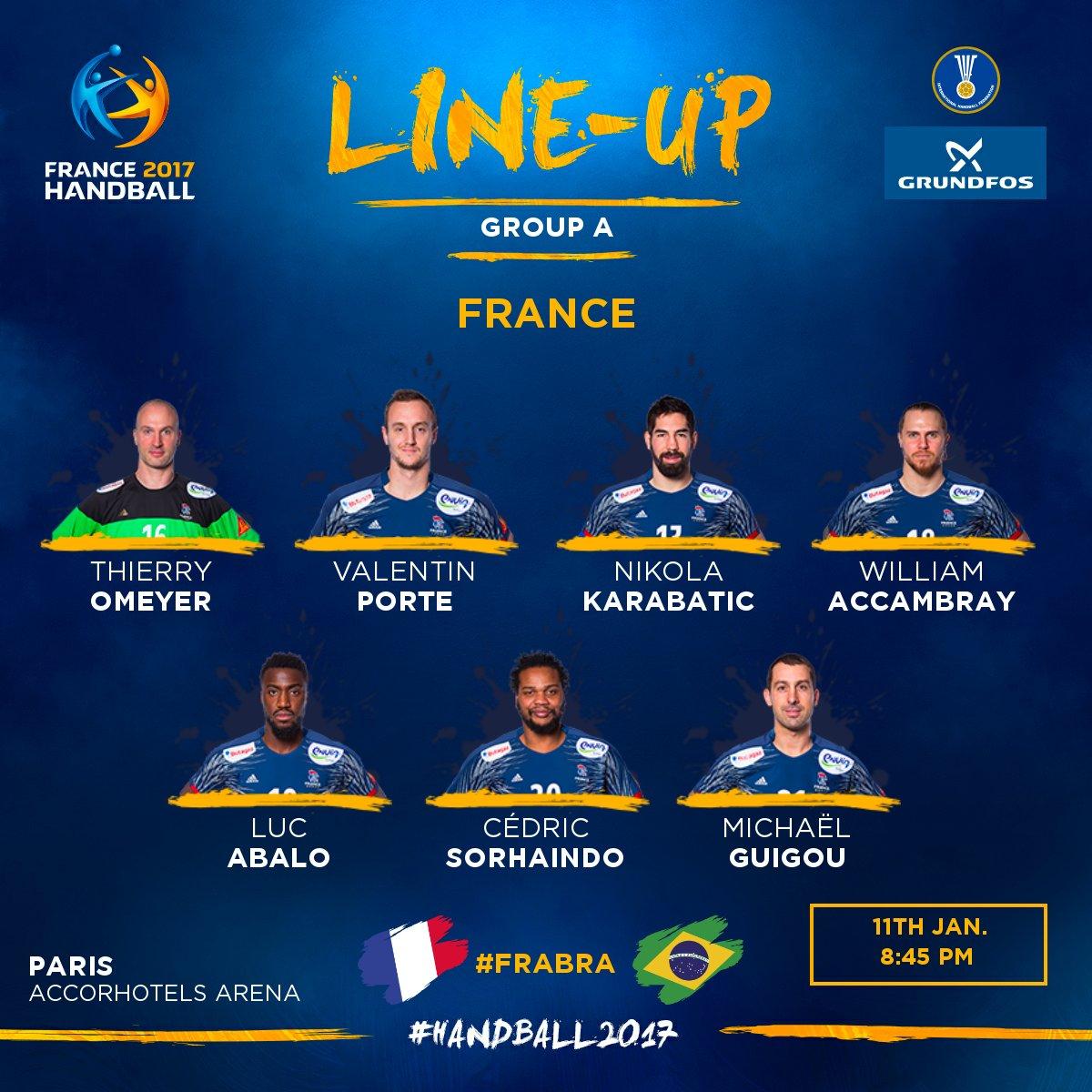 C'est l'heure d'entrer dans la compétition pour l'équipe de France 🇫🇷...