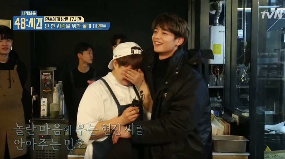 #SHINee's Minho surprises fan and brings her tears of joy